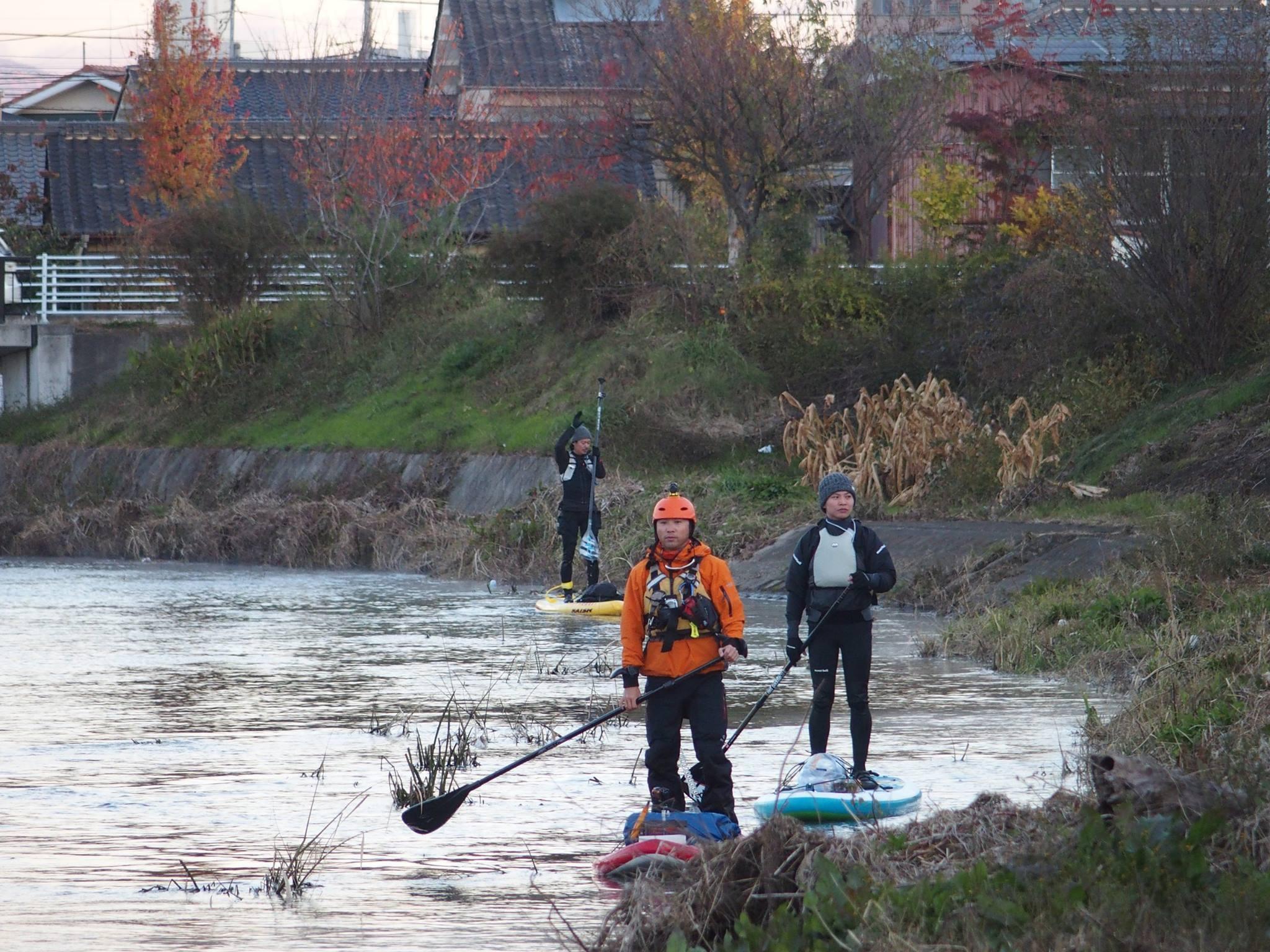 巴波川テストクルーズ2日目~栃木から42kmSUP川下り~