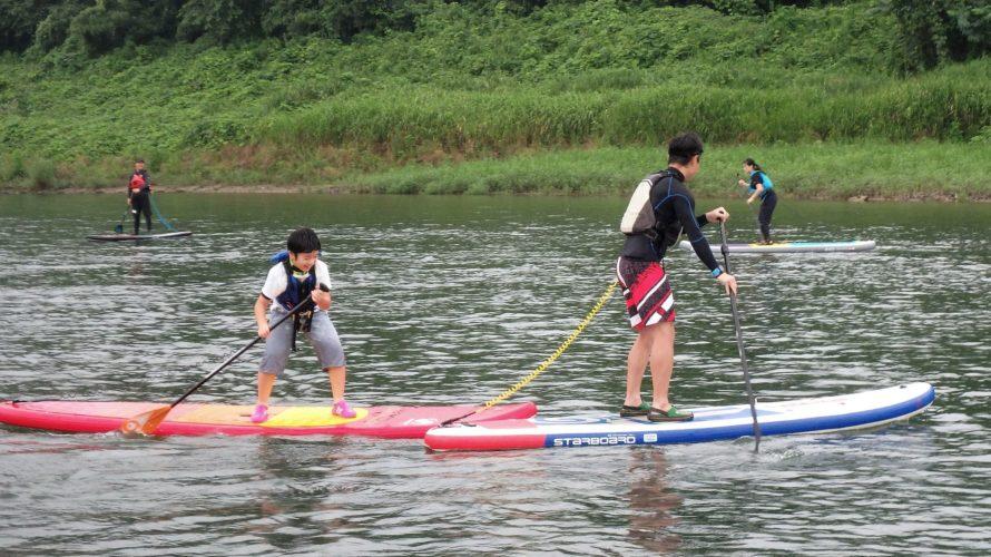 栃木、思川でSUPイベント開催